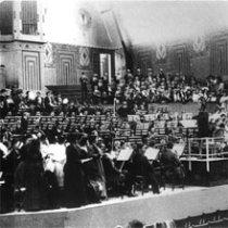 Gustav Mahler rehearsing