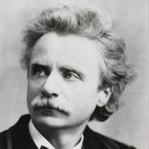 Edvard Grieg, perhaps one of the most distinctive-looking composers there was...