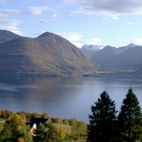The music in the Peer Gynt suites depicts the beautiful Norwegian countryside