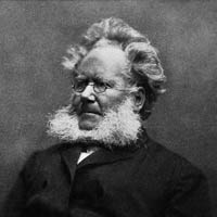 Henrik Ibsen, author of Peer Gynt