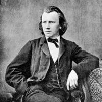A young Johannes Brahms, about the time the his Symphony 1 was written