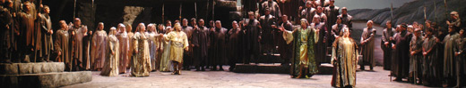 Wagner's Gotterdammerung, performed by the met opera