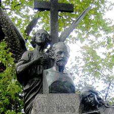 Peter Tchaikovksy's grave