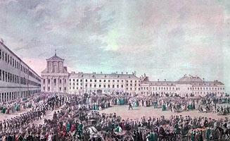 Ludwig van Beethoven's funeral in Vienna