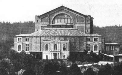 The Bayreuth Festspielhaus in the 19th Century