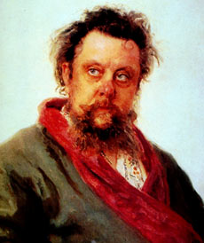 Modest Mussorgsky on death's door