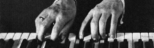 Sergei Rachmaninoff's enormous hands