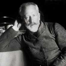 Peter Tchaikovsky later in life