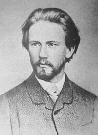 Peter Tchaikovsky as he was when he started teaching at the Moscow Conservatory