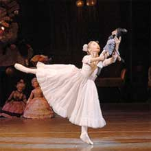 Scene from The Nutcracker Ballet