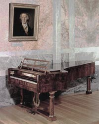 Beethoven's piano. Imagine the pathetique sonata played on that!