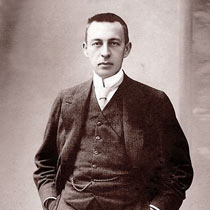Sergei Rachmaninoff looking dapper