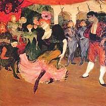 A Bolero dance