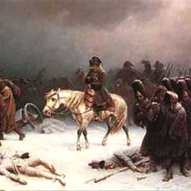 Tchaikovsky 1812 overture: Napoleon running away in freezing Russia